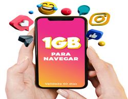 Pacote de Dados 1GB