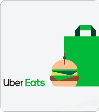Uber Eats R$50,00